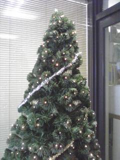 クリスマスツリー飾り付け前