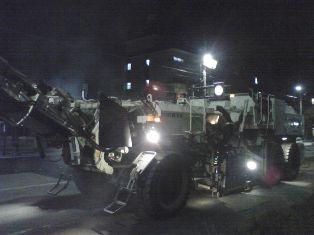 カッコイイ工事車両ロードカッター