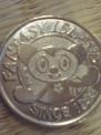 ゲームのコイン。普通だとおもう。Amusement onlyとかいてある。