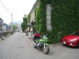 カワサキZで北海道