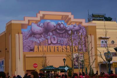 10周年記念の壁