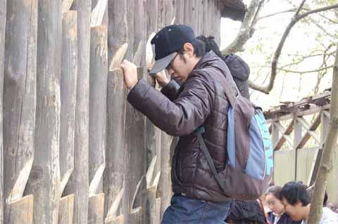 壁をつたう術