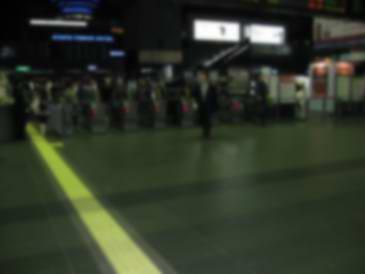 京都駅の改札口