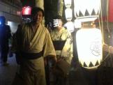 祇園祭2人で