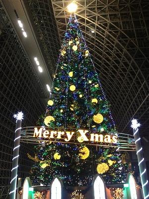 京都駅のクリスマスツリー2012