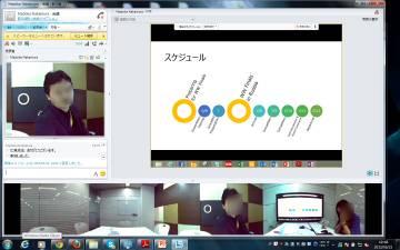 MS社の会議ソフトLync
