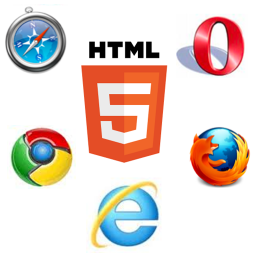 HTML5対応ブラウザ,IE9,FireFox4,Opera11,Safari.Chrome