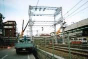 新幹線の落橋