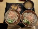 越前そばと鯖寿司