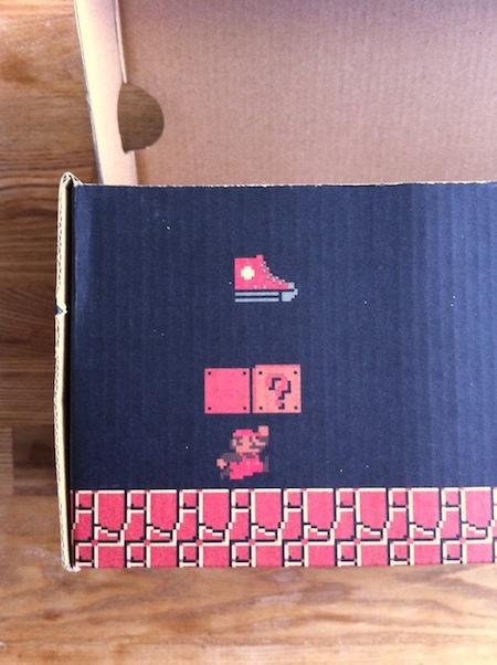 CONVERSE ALL STAR SUPER MARIOの箱が素晴らしすぎる。2