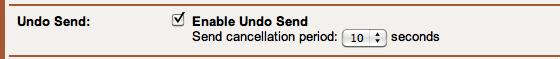 Enable Undo Send