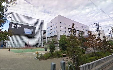京都コンピュータ学院 京都駅前校を新ストリートビューで見た