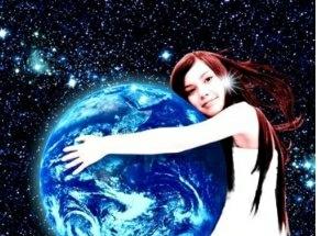 宇宙で生まれ育ったまだ地球に降りたことのない30年後の18歳Lumi