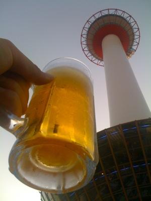 京都タワーホテルビアガーデン