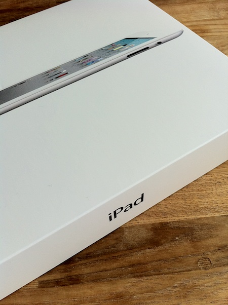 iPad2 美しすぎる箱