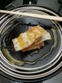 料理研究サークルの豚ばら肉の揚げワンタン皮はさみ