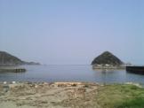 世久見海岸の島