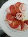 ハムとトマトのサラダ