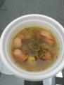 料理研究サークルのさつまいもとソーセージスープ
