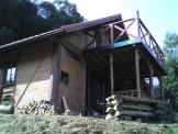 福知山の手作りログハウス1
