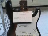 アワードリードのないエレキギター