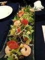 サクラハウスのエビとアボガドのサラダ