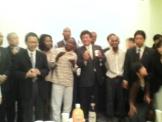 JICAモザンビーク研修員の歓送会