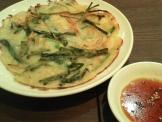 イオンモールKYOTOチェゴヤの野菜チジミ(ハーフ)