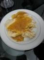 料理研究サークルの玉子焼きにオレンジソースがけ