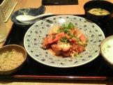 イオンモールKYOTOおふくろの黒酢鶏定食