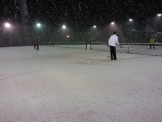 雪のパブリック宝ヶ池テニススクール
