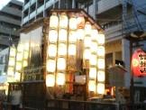 祇園祭の蟷螂山鉾