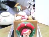 むしやしないのクリスマスケーキ