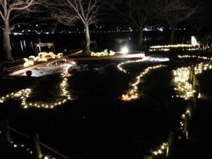 20131223_嵐山花灯路のイルミネーション