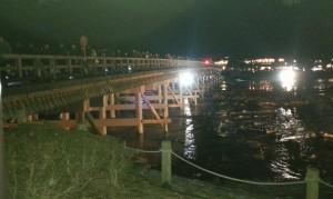 20131223_嵐山花灯路の渡月橋