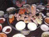 豚肉の鉄板焼き 韓国