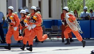 第39回全国消防救助技術大会・障害突破・東海代表