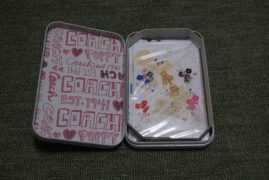 CanCam2010年8月号付録COACHコーチレターセット中身
