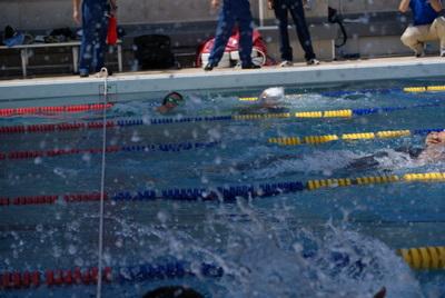 第39回全国消防救助技術大会・溺者搬送中