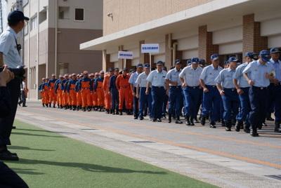 第39回全国消防救助技術大会・開会式行進