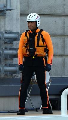 第39回全国消防救助技術大会・水上の部・岡山市消防局特別高度救助隊の服装