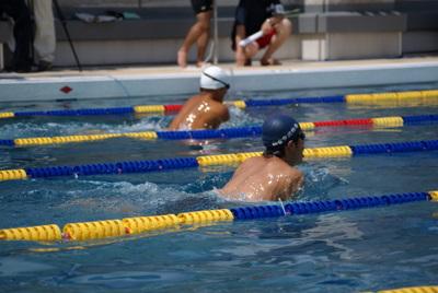 第39回全国消防救助技術大会・基本泳法・復路