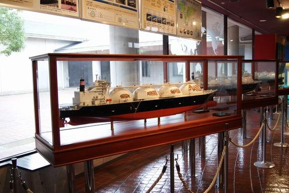 大阪ガス科学館フェリー模型