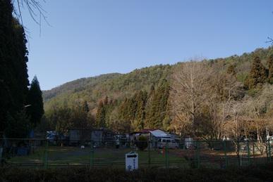関西盲導犬協会周辺の山