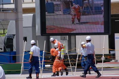 第39回全国消防救助技術大会・引揚救助3