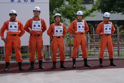 第39回全国消防救助技術大会・消防士さんたち2