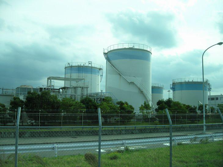 関西国際空港・飛行機の燃料