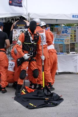 第39回全国消防救助技術大会・どこかのブース