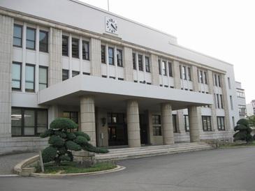 大阪造幣局正面入り口