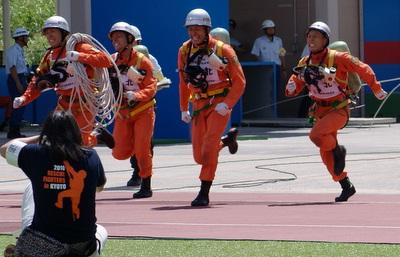 第39回全国消防救助技術大会・障害突破・東北代表